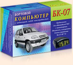 Автомобильный бортовой компьютер БК-07