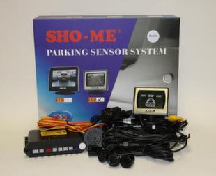 Парктроник Sho-me KDR-25 Black (камера+дисплей 3''+4 датчика)