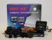 Парктроник Sho-me KDR-36 Black (камера+дисплей 3''+4 датчика)